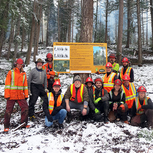 Slocan Project Staff